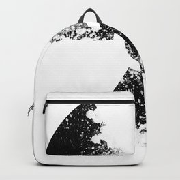 Radioactive symbol- decay Backpack
