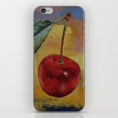 Vintage Cherry iPhone & iPod Skin