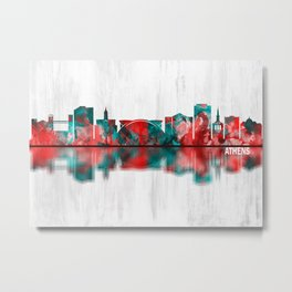 Athens Georgia Skyline Metal Print