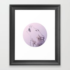 Wolf Strong Framed Art Print