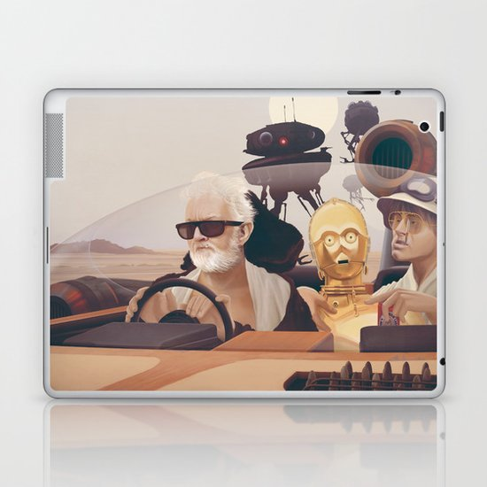 Fear and Loathing on Tatooine Laptop & iPad Skin