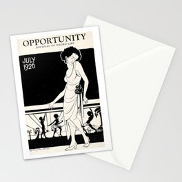 Opportunity Magazine Cover: A Journal of Negro Life Stationery Cards