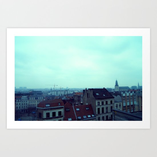 Brussels Art Print