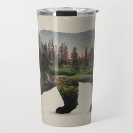 The North American Black Bear Travel Mug