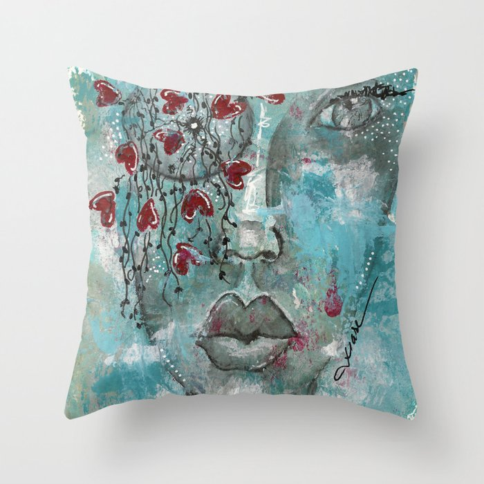 Come Through 3 Throw Pillow