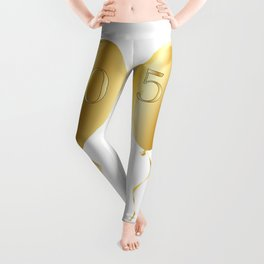 Golden Anniversary Balloon Leggings