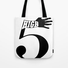 High 5 Tote Bag