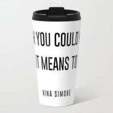 I wish you could know Travel Mug