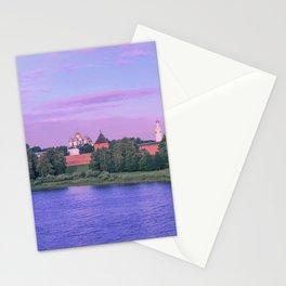 Novgorod at dawn Stationery Cards