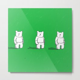 Cute! Bears, bears, bears! Metal Print