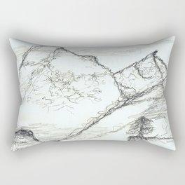 The Mountains of my Dreams Rectangular Pillow
