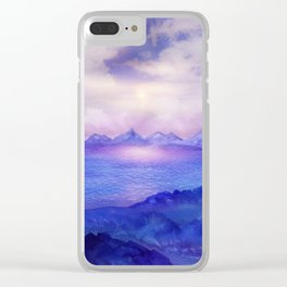 Wish You Were Here 04 Clear iPhone Case