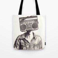 Radio-Head Tote Bag