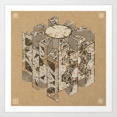 Hellraiser Puzzlebox C Art Print