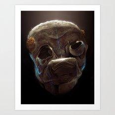 Alien Bug Art Print