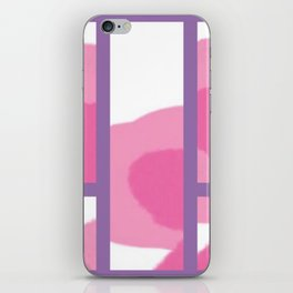 Expressive Windows of Purple iPhone Skin