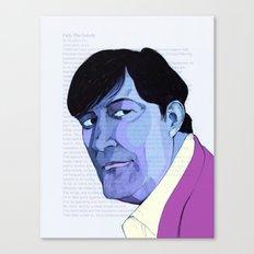 Stephen Fry Canvas Print