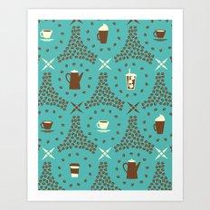 Coffee Hour Art Print