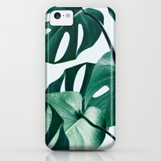 Monstera #society6 #artprints #buyart iPhone 5c Slim Case