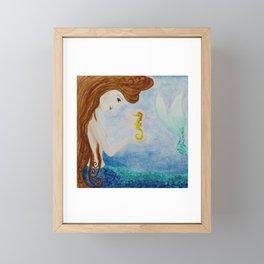 Mermaids Joy Framed Mini Art Print