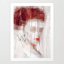 and more than a thousand kisses Art Print