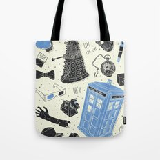 Artifacts: Doctor Who Tote Bag