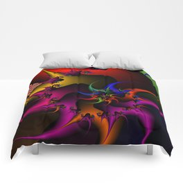 fractal world Comforters
