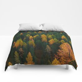 The Evergreens (Color) Comforters