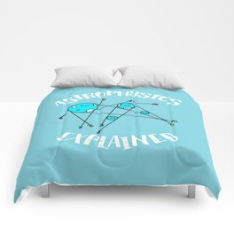 Astrophysics Explained Comforters