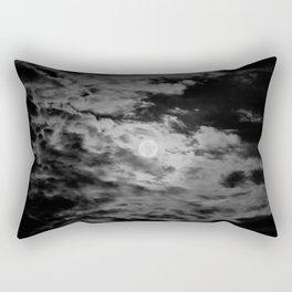 Cloudy Moon Rectangular Pillow