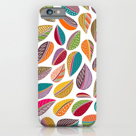Leaf Colorful iPhone & iPod Case