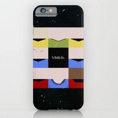 To Boldy Go - square - Star Trek The Original Series TOS - startrek Trektangle Kirk Spock Bones  iPhone 6s Slim Case