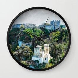 Erice art 7 Wall Clock