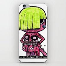 CUTIE CREEP iPhone & iPod Skin