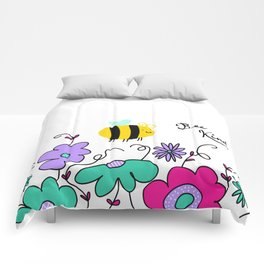 Bee Kind Comforters