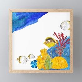 Coral Reef #7 Framed Mini Art Print