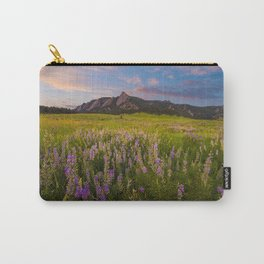Boulder In Bloom Carry-All Pouch