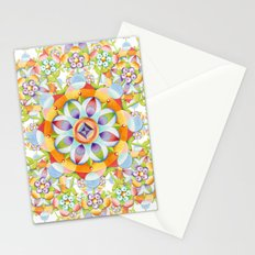 Beaux Arts Flower Crown Stationery Cards