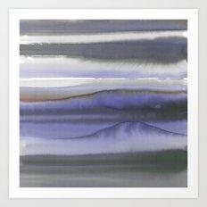 Mystic Dream Deep Blue Art Print
