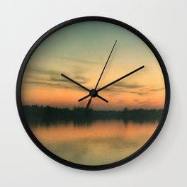 NORTHWOODS LAKE Wall Clock