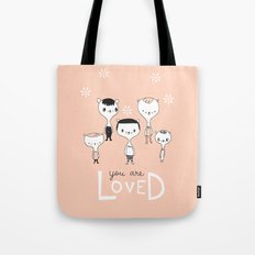 You are Loved - Pink Tote Bag