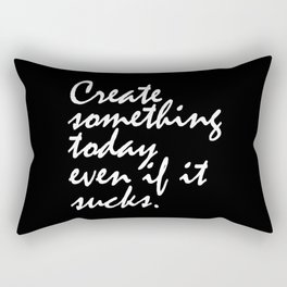 Create Something Today Rectangular Pillow