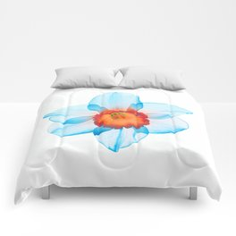 narcissus poeticus (feeling turquoise) Comforters