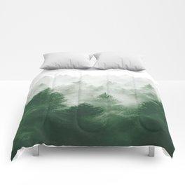 Foggy Woods III Comforters
