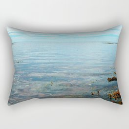 Looking Out to See The Sea Rectangular Pillow