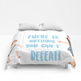 Bible character. David vs Goliath Comforters