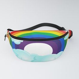 Rainbow Wishes Fanny Pack
