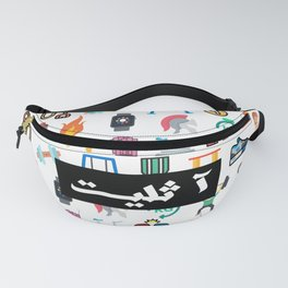 Athlete Icons Arabic Fanny Pack