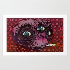 ET Mofo Art Print