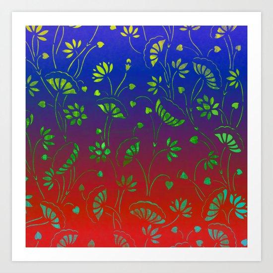 Lillypond-3 Art Print